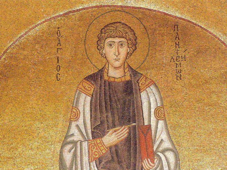 Святой Пантелеимон Великомученик и целитель