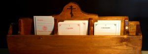 Бланки церковных записок