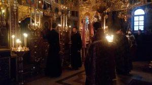 Монастырь, служба