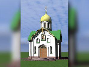 проект храма Иверской иконы Божией Матери