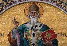 Святой Спиридон Тримифунтский