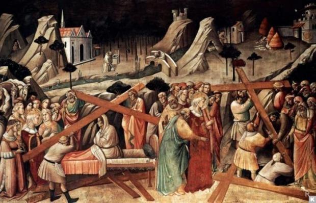 Обретение Креста Господня